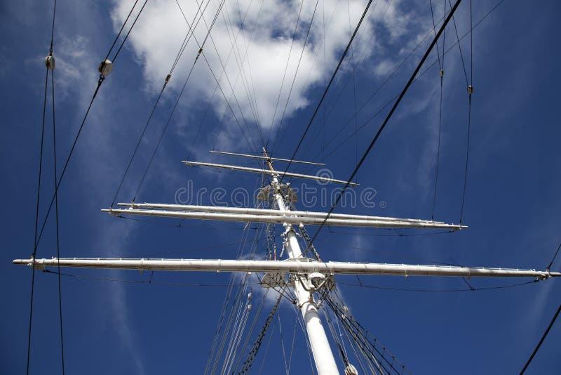 gammal seglingship arkivfoto