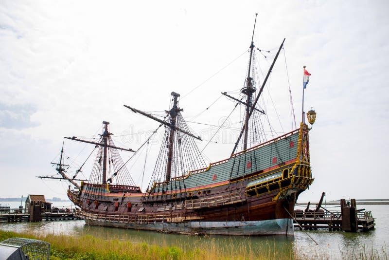 gammal ship royaltyfri bild