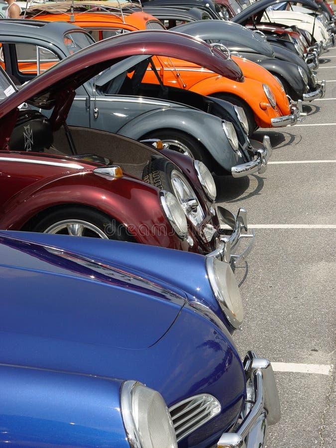 Gammal Show För Bil Arkivbilder