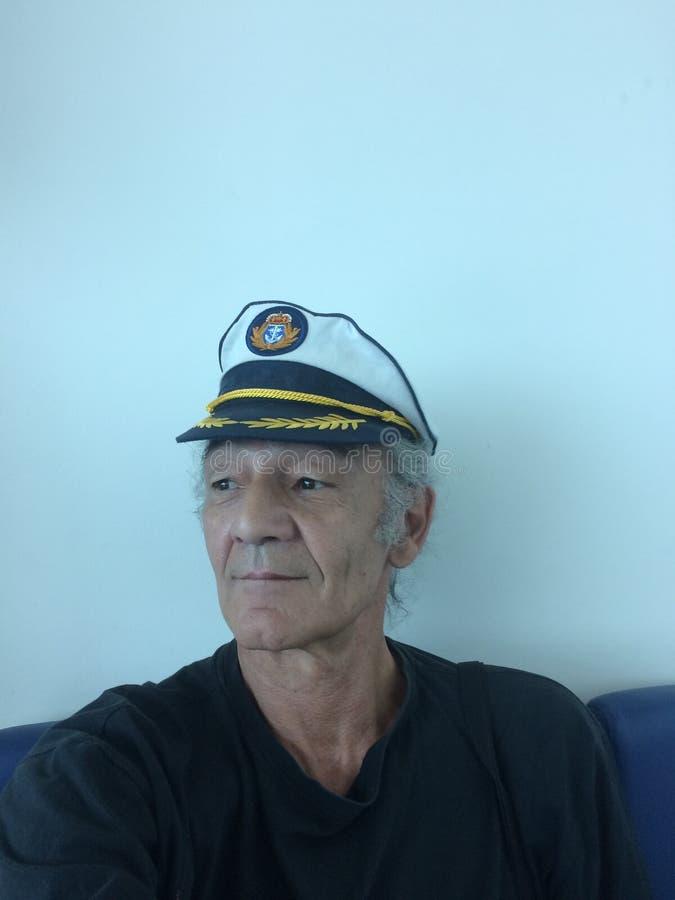gammal sjöman royaltyfri bild