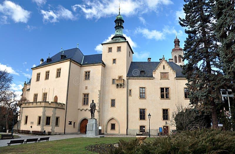 Gammal slott, stad av Kutna Hora, Tjeckien, Europa arkivfoton