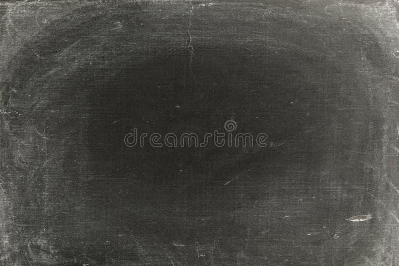 Gammal smutsig svart tavla royaltyfria foton
