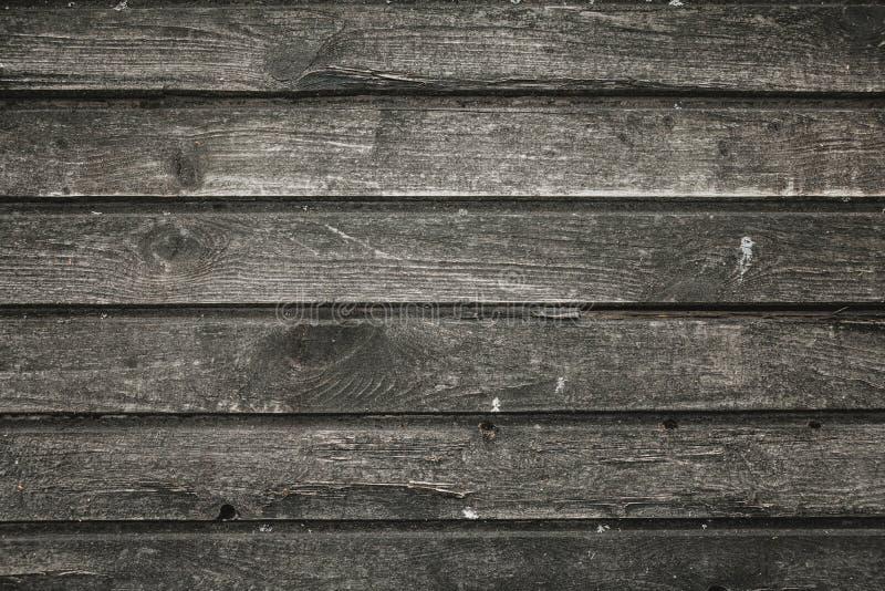 Gammal smutsig trävägg arkivbild