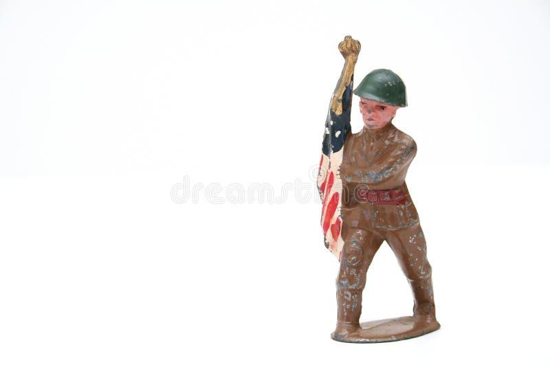 gammal soldat 2 arkivbild