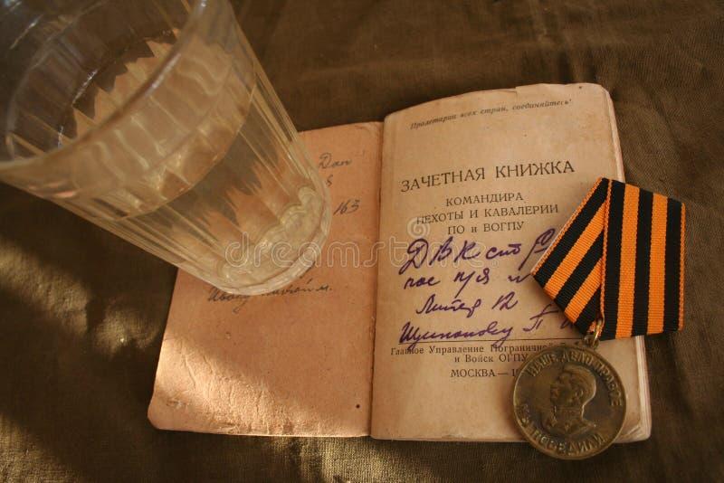 Gammal soldat för hem- ferie royaltyfria foton