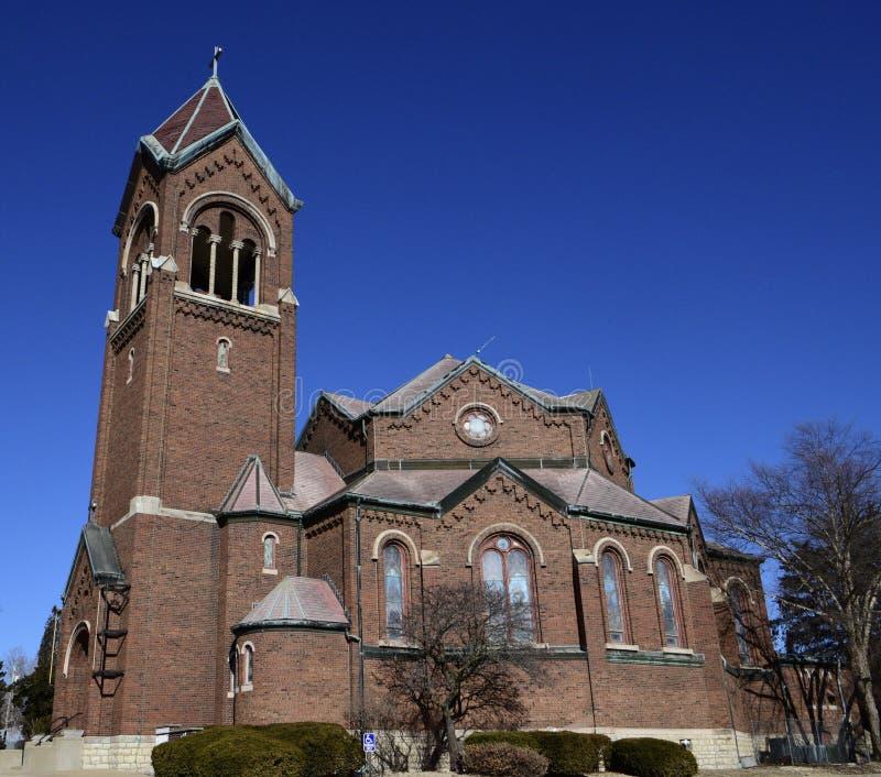 Gammal St Joseph Church royaltyfria foton