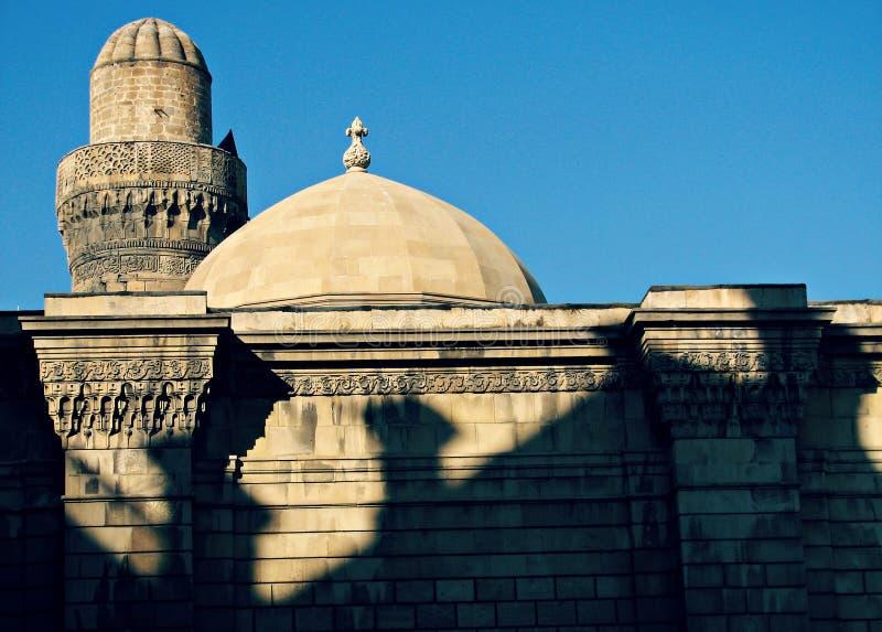 Gammal stad av Baku, Azerbajdzjan royaltyfri fotografi
