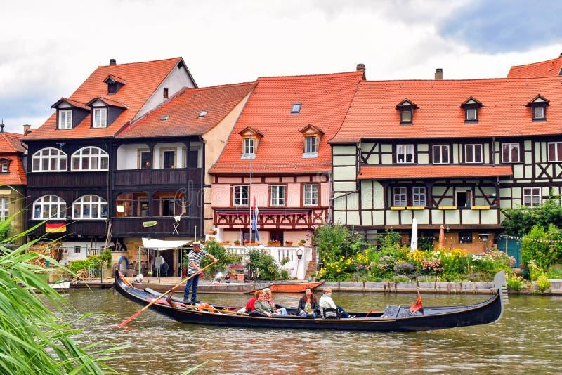 Gammal stad av den Bamberg Tyskland royaltyfri foto