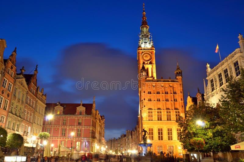 Gammal stad av Gdansk royaltyfri foto