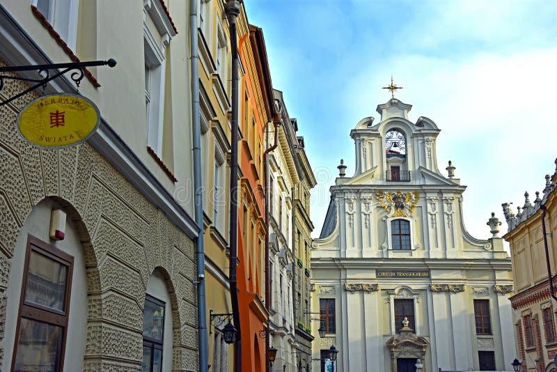Gammal stad av Krakow arkivbild
