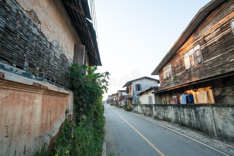 Gammal stad, Chiang Karn royaltyfri bild