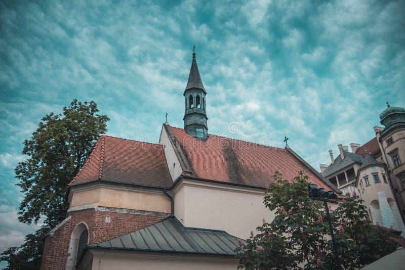 Gammal stad Cracow arkivbild