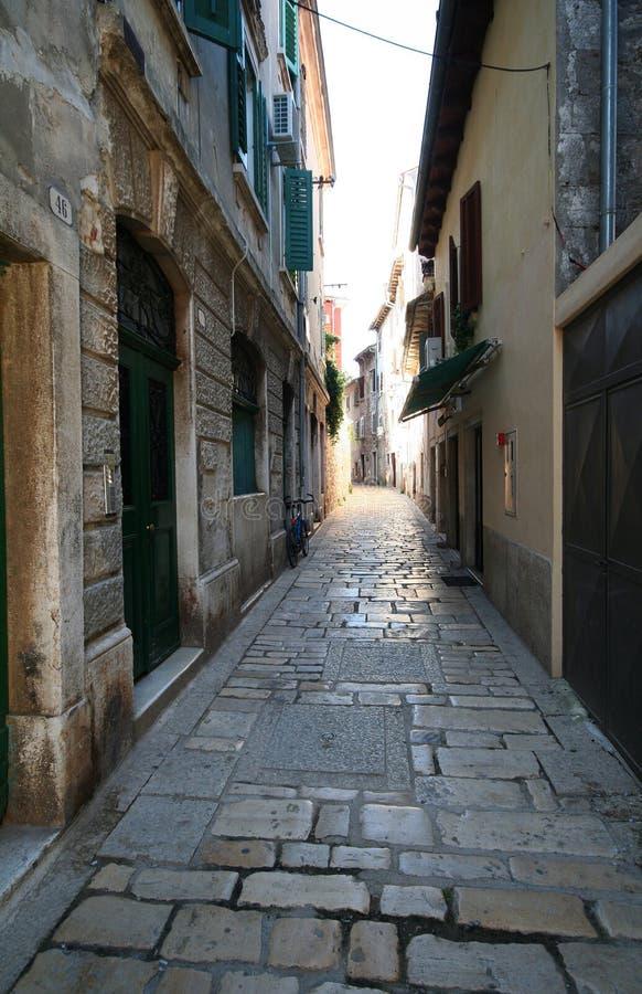 gammal stad för 28 adriatic arkivfoto
