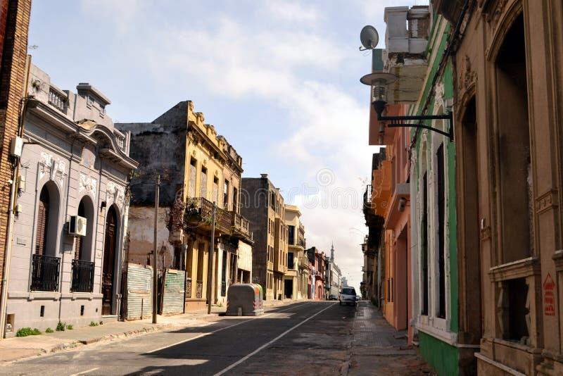 Gammal stad för Montevideo royaltyfria bilder