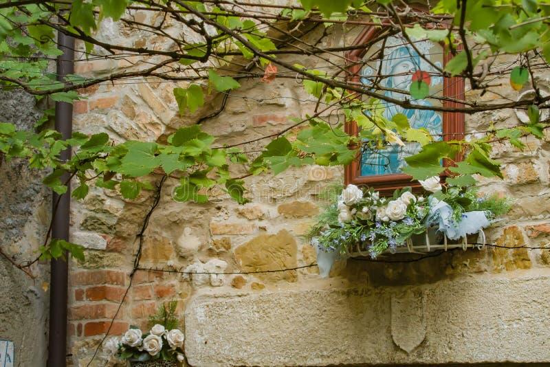 Gammal stad Grado, Italien arkivfoto