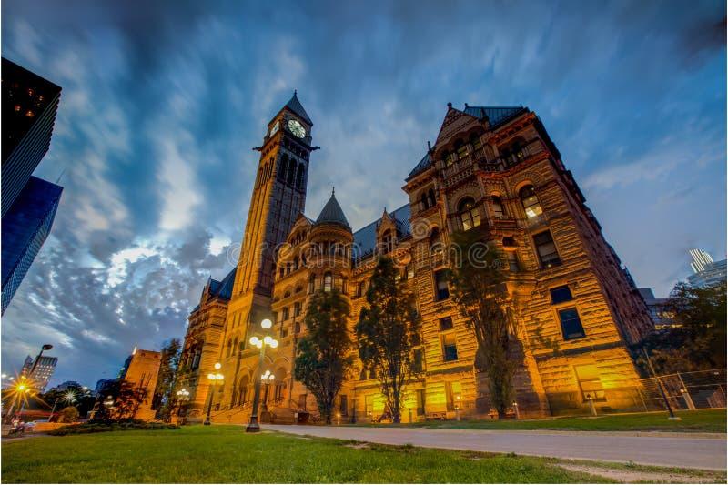 Gammal stad Hall& x28; Toronto& x29; royaltyfri fotografi