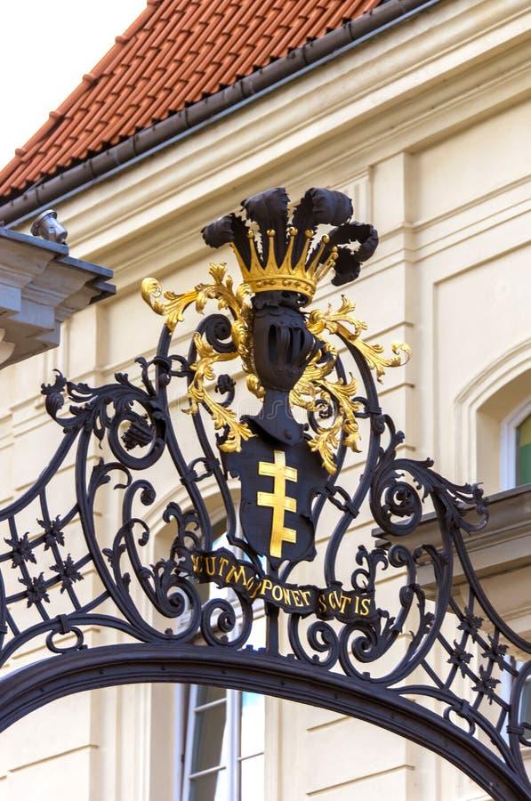 Gammal stad - Warszawa, Polen royaltyfria foton