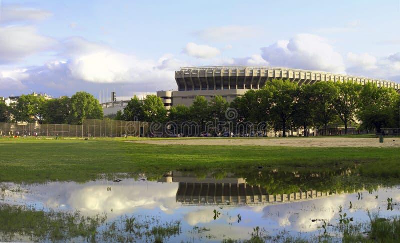 gammal stadionyankee fotografering för bildbyråer
