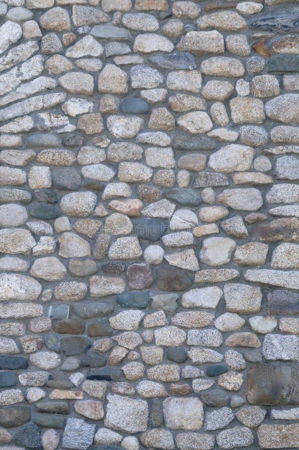 Gammal stenväggbakgrund royaltyfria bilder
