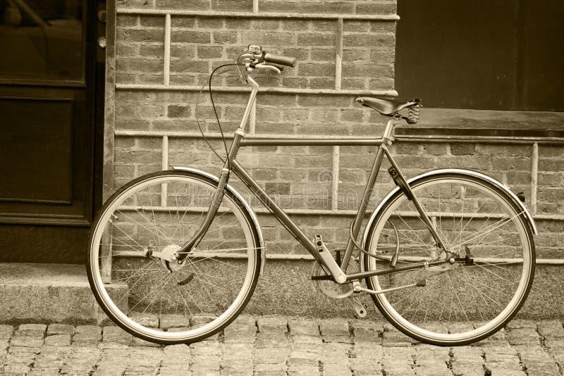 gammal stil för cykel arkivfoton