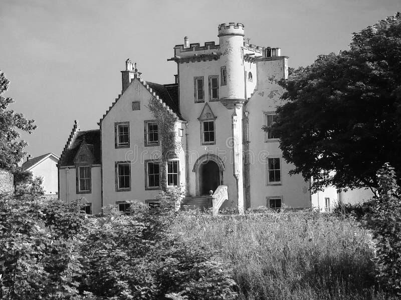 gammal stil för herrgård royaltyfri foto