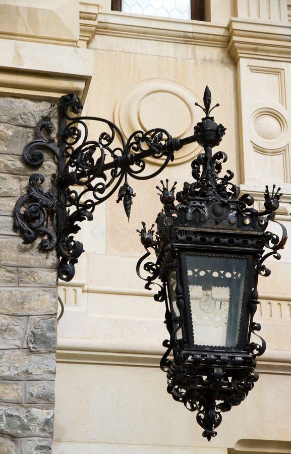 gammal stil för lampa royaltyfri foto