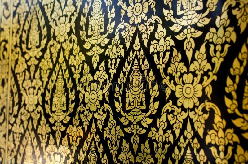 Gammal stil för thailändsk konstmodell arkivfoto