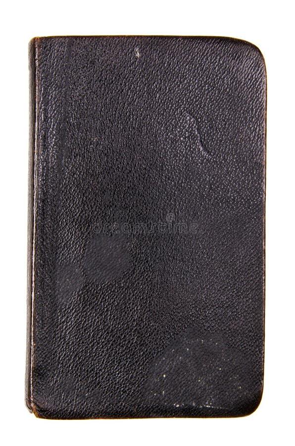 gammal svart bok arkivbilder