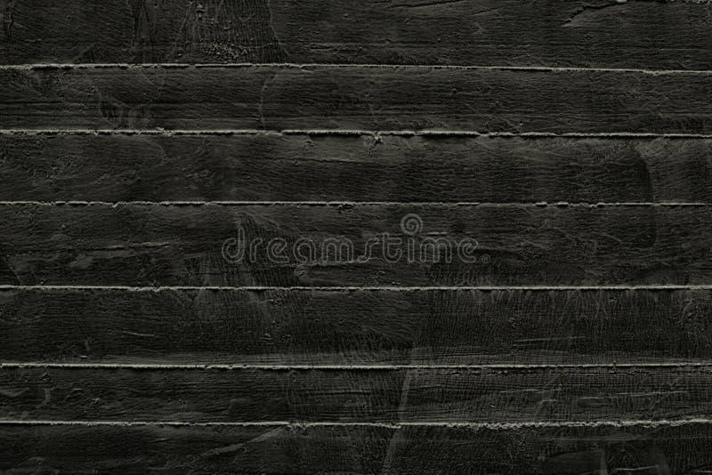 Gammal svart grunge texturerade bakgrunder Svart v?ggbakgrund royaltyfria foton