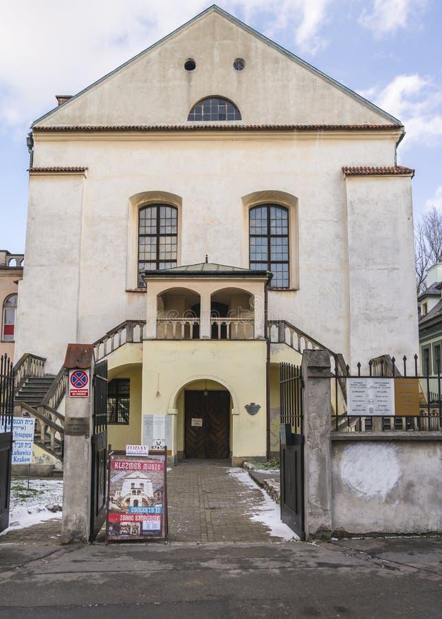 Gammal synagoga Isaaka fotografering för bildbyråer