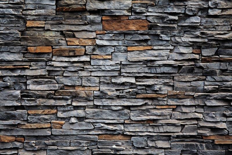 Gammal tegelstenvägg från en sten royaltyfri fotografi
