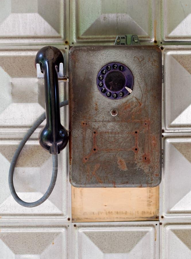 Download Gammal telefon arkivfoto. Bild av tala, nostalgiker, förbind - 19780362