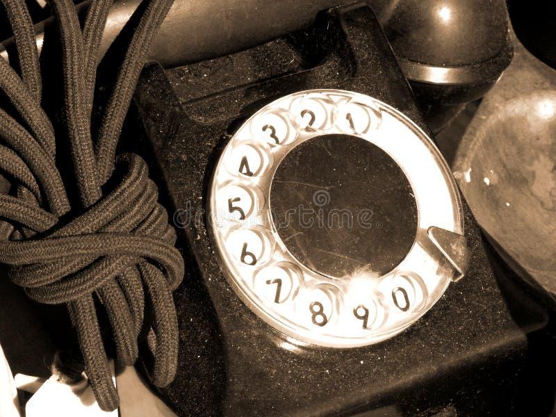 Download Gammal telefon fotografering för bildbyråer. Bild av öppet - 288563