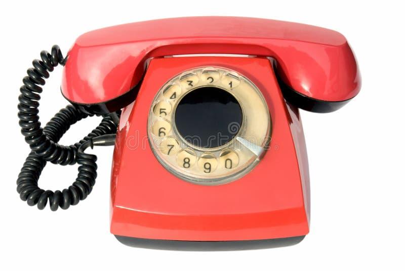 gammal telefon royaltyfri fotografi