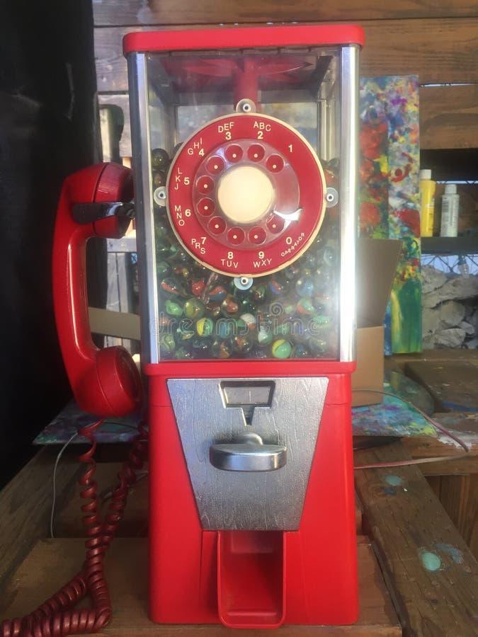 gammal telefon arkivbild