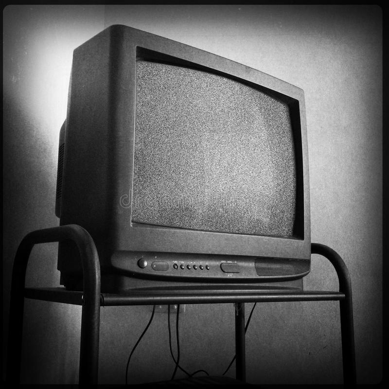Gammal television arkivfoton