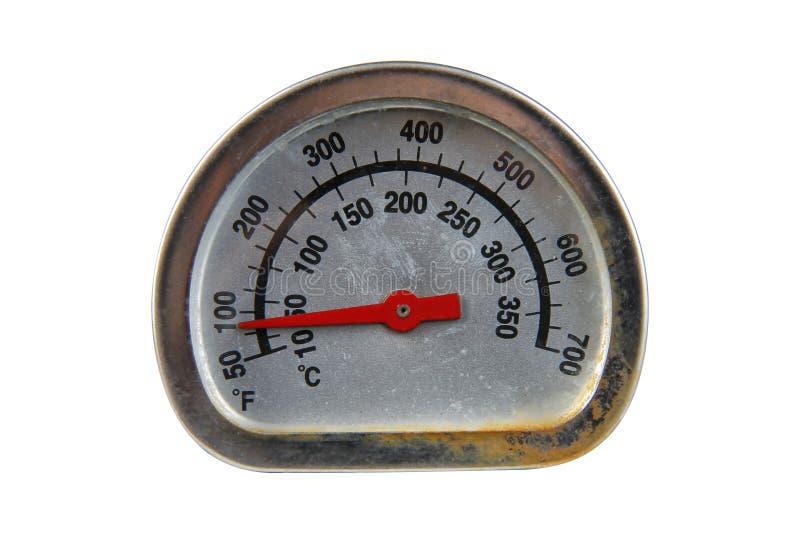 gammal termometer royaltyfria foton
