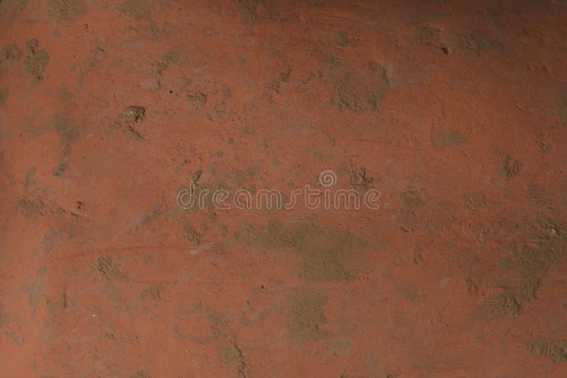 Gammal textur för lerakruka fotografering för bildbyråer