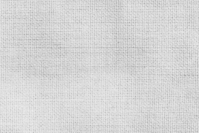 gammal textur f?r bakgrund Yttersida av vitt textiltyg royaltyfri bild