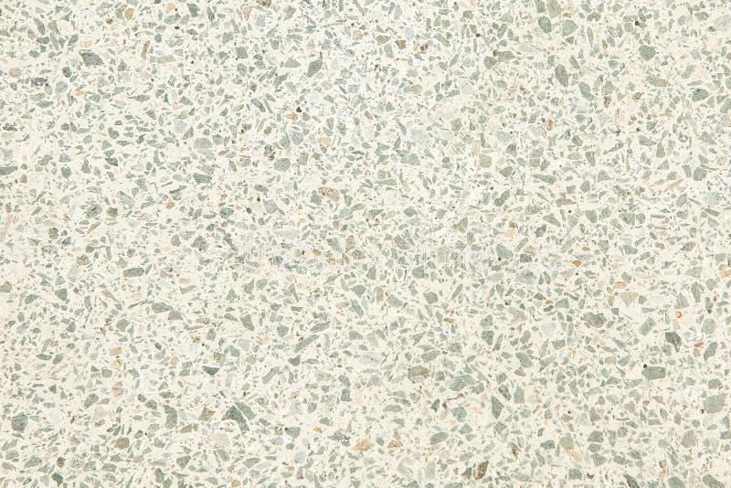 Gammal textur f?r Terrazzogolv eller polerad sten f?r bakgrund royaltyfria bilder
