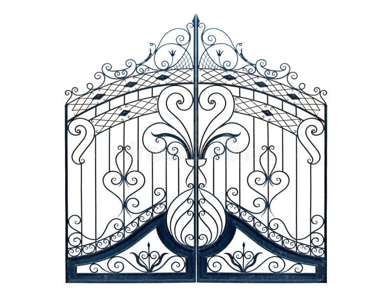 gammal tid för falska portar royaltyfri illustrationer