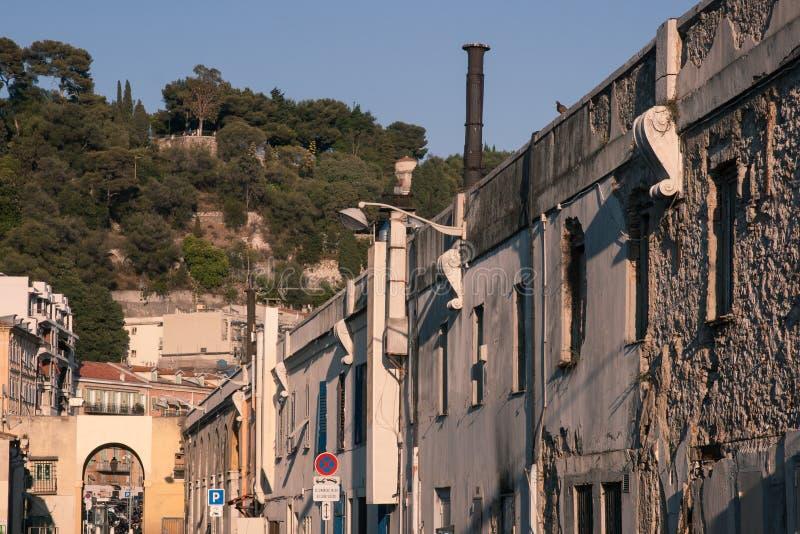Gammal Town Av Nice, Frankrike Royaltyfria Foton