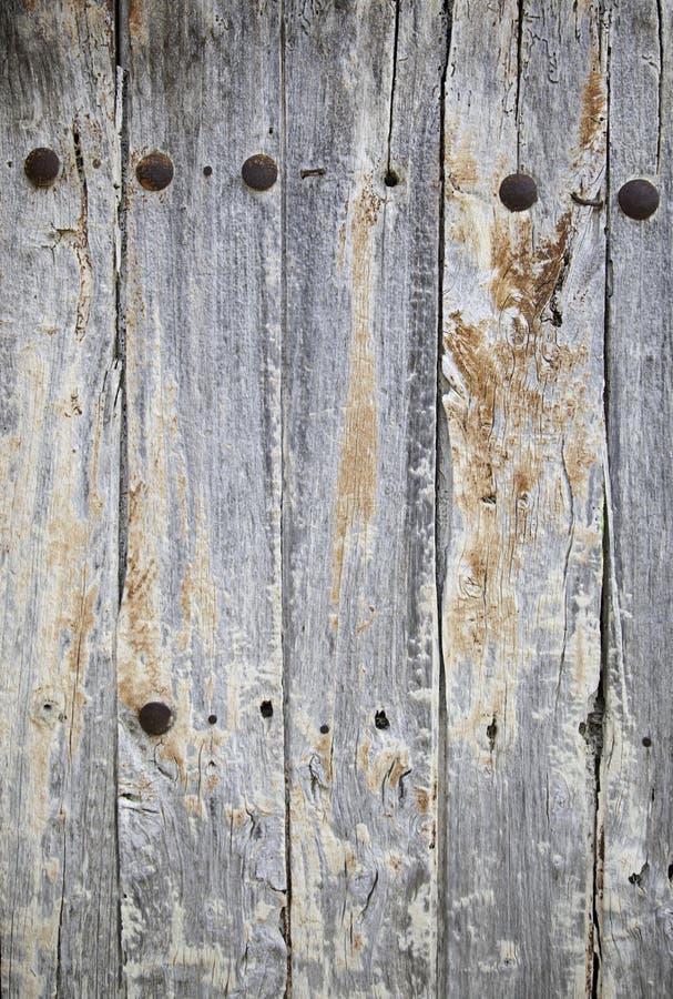 Gammal träbakgrund arkivfoto