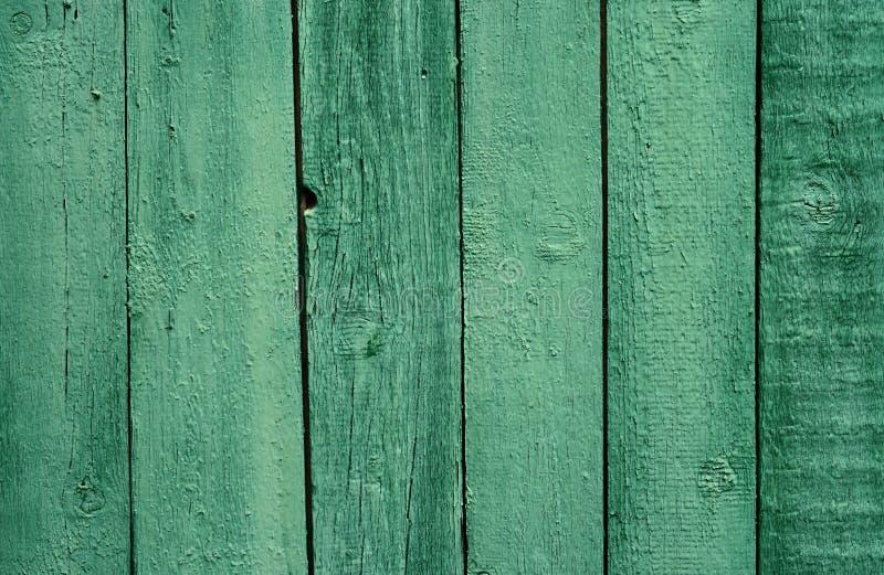 Gammal trägräsplan målade staketet, härlig bakgrund royaltyfri foto