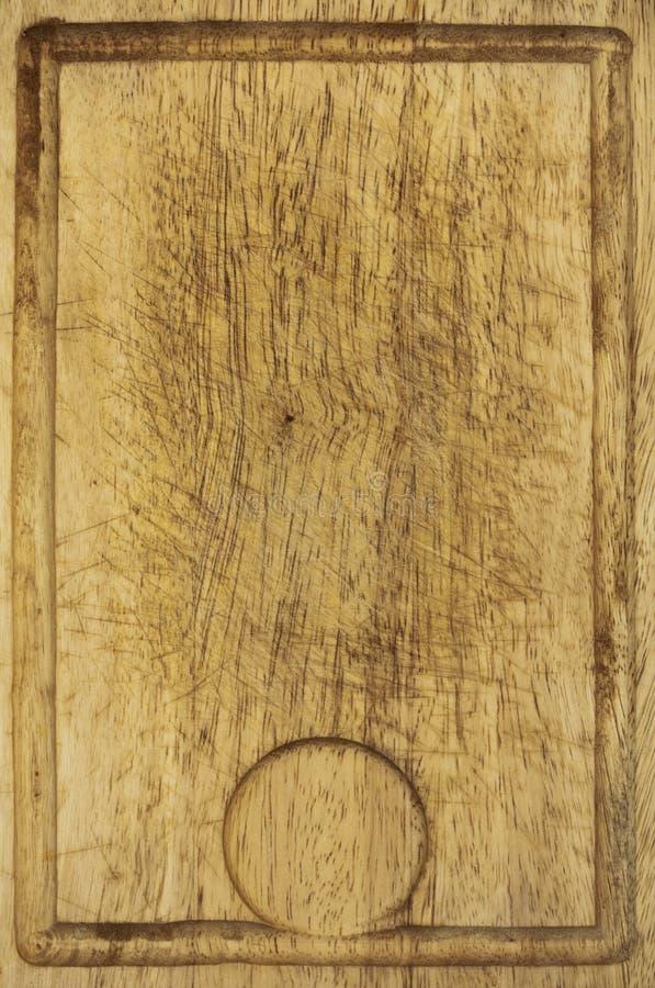 Gammal trätextur för bakgrund för kökskrivbordbräde arkivfoton