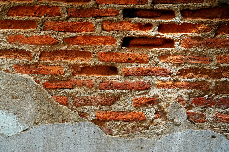 Gammal vägg fotografering för bildbyråer