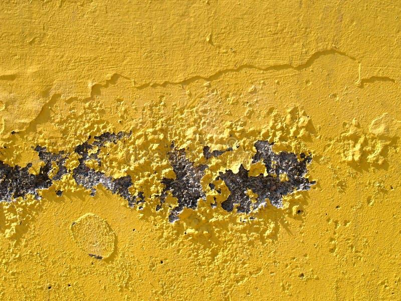 Download Gammal vägg fotografering för bildbyråer. Bild av yellow - 995687