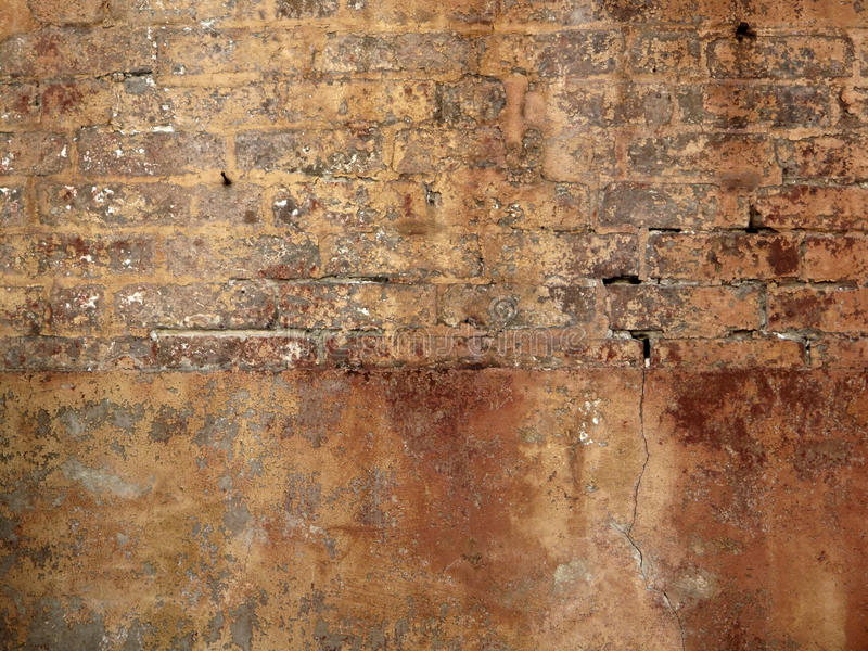 Gammal vägg för ålder royaltyfri fotografi