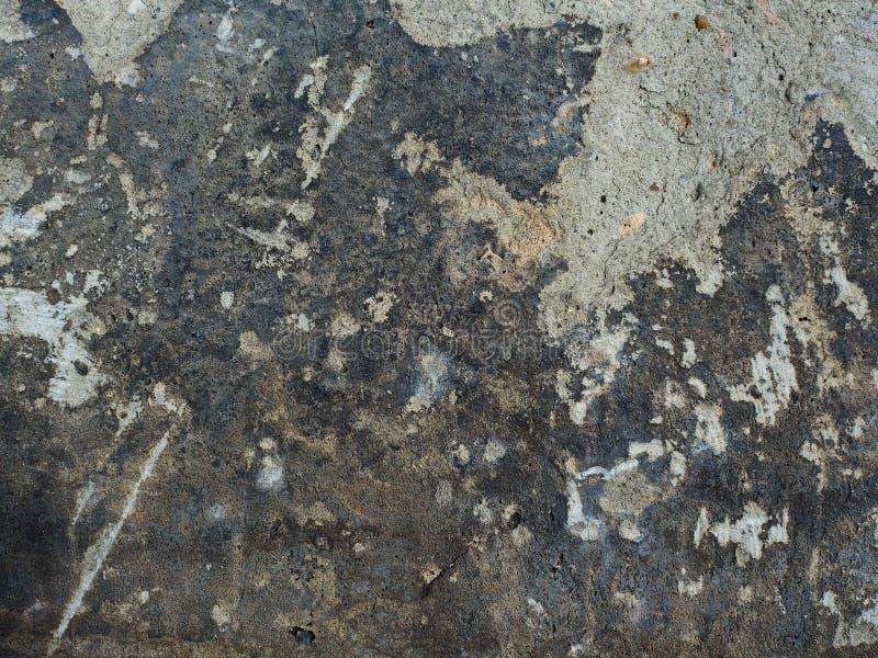 gammal vägg för cement royaltyfri foto