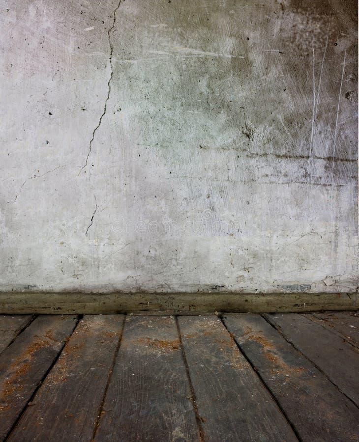 gammal vägg för golv royaltyfria foton